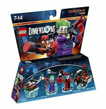 Lego Dimensions - DC Joker & Harley (All Formats) Brand New & Boxed
