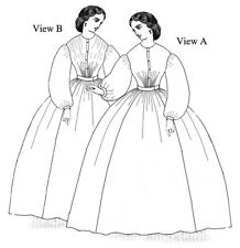 Schnittmuster Truly Victorian TV 452: 1860s Work Dresses