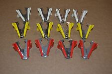 Staple Remover Puller Lot of 12 White, Yellow, Red. New Old Stock.