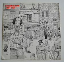 JIMMY CLIFF STRUGGLING MAN VINYL LP ILPS 9235 ONENESS MADE IN JAMAICA RARE VGC