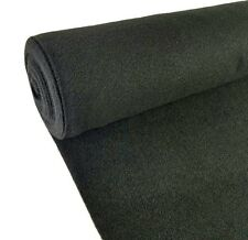 "5 Yards Black Upholstery Durable Un-Backed Automotive Trim Carpet 40""x15 Ft Roll"