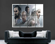 GAME OF THRONES POSTER ART TV SERIES USA FANTASY IMAGE LARGE WALL PICTURE