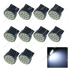 10X White 7443 ECE 22 SMD 1206 LED Brake Light Bulbs Clearance Lamps Auto Z20047