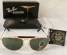 New Vintage B&L Ray Ban Olympic Games Sport Metal Gold W1079 Sunglasses USA NOS