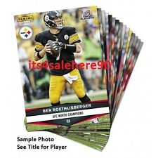 2016 Panini Instant STEELERS Playoffs Exclusive - DAVID DECASTRO #522