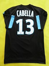 5/5 OLYMPIQUE MARSEILLE #13 CABELLA  2015-2016 SHIRT JERSEY ADIZERO PLAYER ISSU