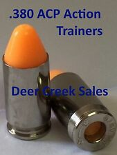 (10) ACTION TRAINERS SNAP CAPS METAL DUMMY ROUNDS .380 ACP