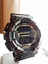 Casio G-Shock GD110-1 Black Plastic Quartz Men's Watch