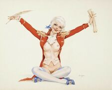 ALBERTO VARGAS 8X10 PIN-UP GIRL ART PRINT 1566