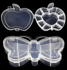 Apple Butterfly Cells Storage Box Case for Rainbow Loom Kit Rubber Bands Charms