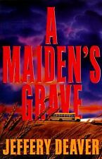 A Maiden's Grave by Jeffery Deaver (1995, Hardcover)