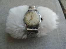 17 Jewels Incabloc Swiss Made Hilton Men's Wind Up Watch