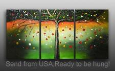 Modern Abstract Art Oil Painting On Canvas Fairlyland tree Framed