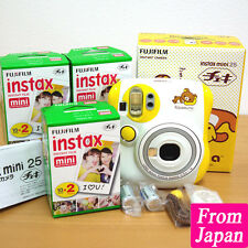 Fujifilm instant cheki mini 25 camera Rilakkuma Polaroid + 60 Film Japan Import