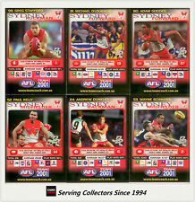 2001 Teamcoach Trading Cards Base Prize Team Set Sydney (6)