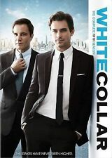 White Collar: The Complete Fifth 5th 5 Season (DVD, 2014, 4-Disc Set) NEW
