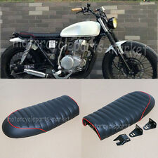 RED Edge -SUZUKI Universal Cafe Racer Seat GN125 GN250 GN400 GR650 GS GT T TU250