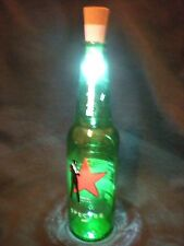 007 James Bond Spectre Heineken Beer Bottle LED Lamp - Casino Royale, Skyfall