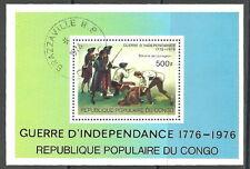 Kongo - 200 Jahre Unabhängigkeit der USA 1976 Block 10 gestempelt  Mi.561