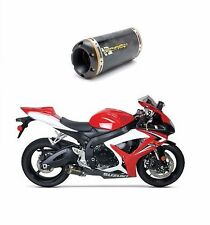 Two Brothers 2006 2007 Suzuki GSXR 600/750 Carbon Fiber Slip-On Exhaust GSX-R