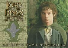 "Lord of the Rings Return of the King: ""Frodo's Vest"" Memorabilia Costume Card"