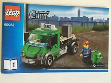 Lego Freight Service Truck w Minifigure ONLY sealed bag from Cargo Train 60052