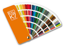RAL K7 Classic colour guide. New - All the Classic colours. Pack of 10 guides.