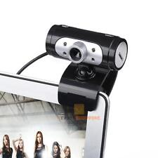 720p Pixel 4 LED HD USB Webcams Web Cam Camera With Night Lights For PC Laptop