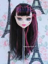 Monster High Draculaura SCARIS CITY OF FRIGHTS Doll Head