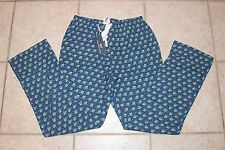 NWT Vineyard Vines Mens XS Woody and Tree Print Flannel Lounge Sleep Pants