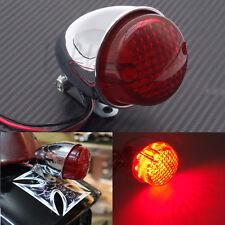 Motorcycle LED Brake Stop Running Tail Light Cafe Racer Bobber Cruiser Chopper