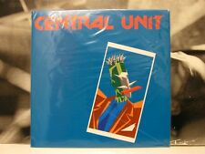 CENTRAL UNIT - OMONIMO S/T SAME LP LIKE NEW COME NUOVO RISTAMPA ORIGINALE 2003