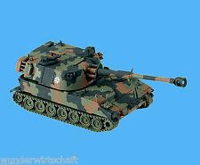 Minitanks H0 776 PANZER-HAUBITZE M109 getarnt Bundeswehr HO 1:87 Neu OVP Herpa
