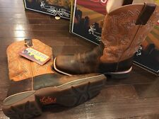 Durango Lady Rebel Ramped Up Leather Cowgirl Western Boots DWRD034 Women's 6.5 M
