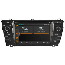 For Toyota Corolla 14-15 Map Autoradio GPS SatNav Stereo Headunit DVD Multimedia