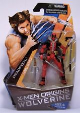 "DEADPOOL X-MEN ORIGINS WOLVERINE COMIC SERIES ACTION FIGURE MOSC 3 3/4"" 2009"