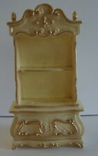 Vintage Dollhouse Furniture Doll Large Plastic Hutch Cabinet
