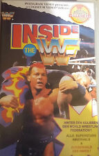WWF Inside the WWF 1994 ORIG VHS WWE Wrestling deutsche Version