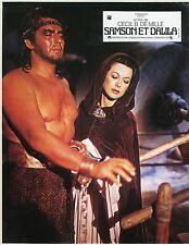 VICTOR MATURE HEDY LAMARR SAMSON AND DELILAH  1943 VINTAGE LOBBY CARD N°1