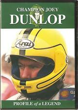 CHAMPION JOEY DUNLOP DVD PROFILE OF A LEGEND