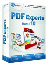 Expert PDF 10 Home CD/DVD Version allemand de Avanquest PDF Manager NEUF