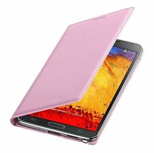 Genuine Samsung Custodia flip in pelle Galaxy Note 3 SM n9005 Smart Phone Book Cover