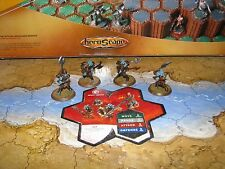 More used Card 1 repaired minis Heavy Gruts Wave 6 Dawn of Darkness Heroscape