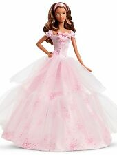 Barbie Birthday Wishes 2016 Barbie Doll, Light Brunette