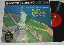 REINER Dvorak New World Symphony RCA LIVING STEREO LSC-2214 SHADED DOG LP