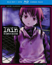 Serial Experiments Lain: Complete Series - Classic (Blu-ray/DVD Combo) DVD, Cele