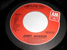Janet Jackson: What Have You Done For Me Lately / (Same) 45