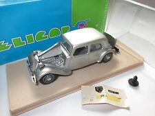 Citroen Traction Avant Berline (1938) silber argentin met, Eligor in 1:43 boxed!