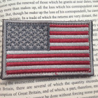 U.S. AMERICAN Retro FLAG USA ARMY 3D EMBROIDERED MORALE BADGE HOOK VELCRO PATCH