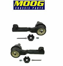 BMW E90 E84 325 330 X1 Pair Set of Front Outer Left & Right Tie Rod Ends Moog